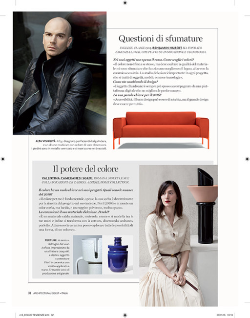 Valentina Cameranesi Sgroi Selected Press